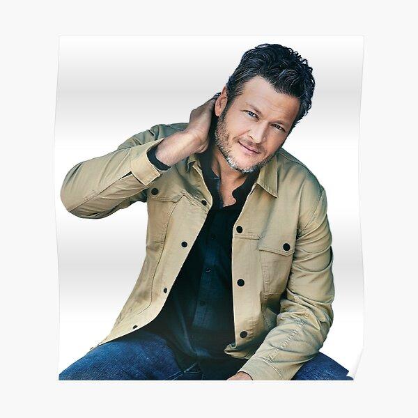 Blake maretduapuluh Shelton on Heartache, Falling Poster