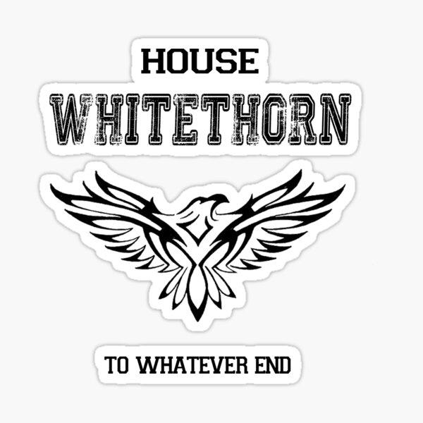 House Whitethorn Sticker