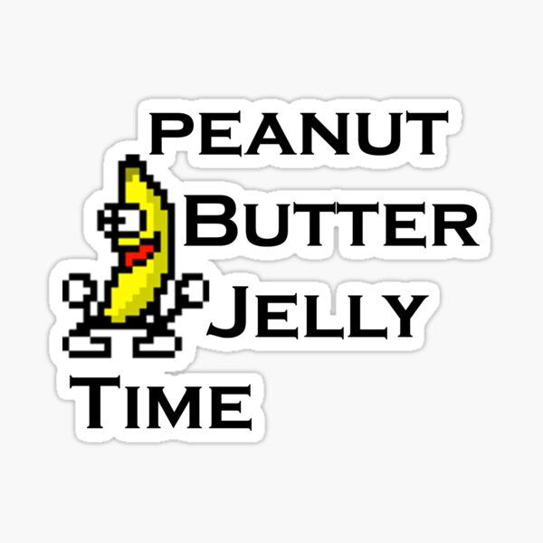 PBJ Sticker