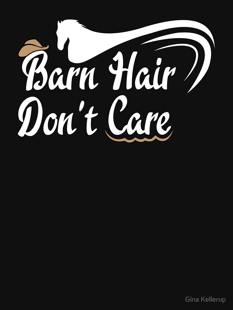 Horse Lover Barn Hair Don't Care Cowboy Hat by KanigMarketplac