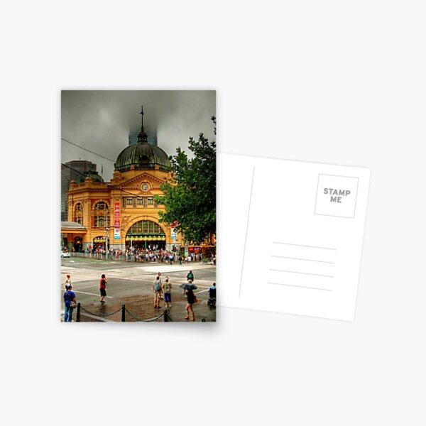 Flinders Street Station, Melbourne, Victoria Postcard