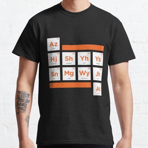 ATEEZ - Tableau périodique T-shirt classique