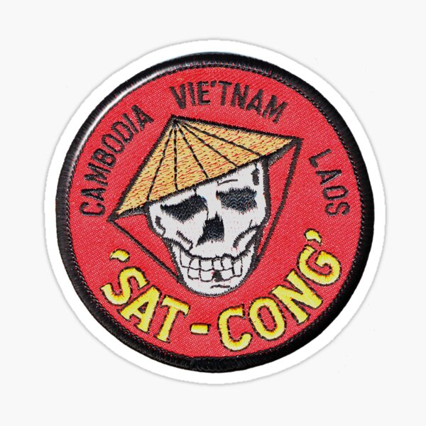 Sat Cong Cambodia Vietnam Laos Sticker