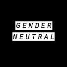 gender neutral by alienfolklore
