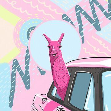 Pink Llama Adventure  de Lostanaw