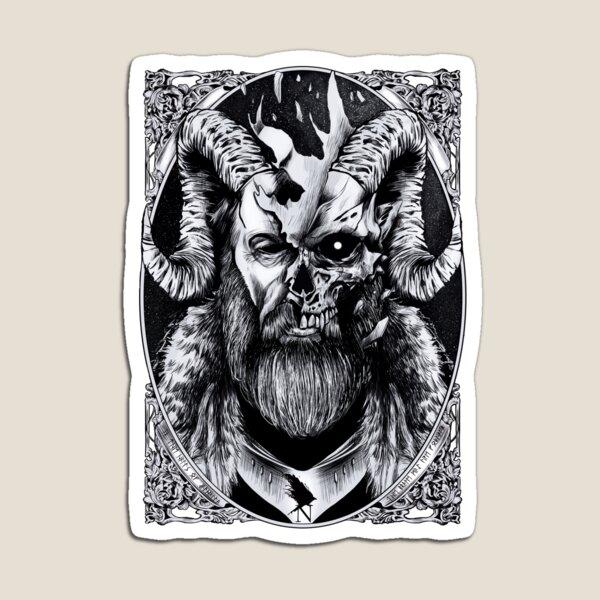 The God Odin  Magnet