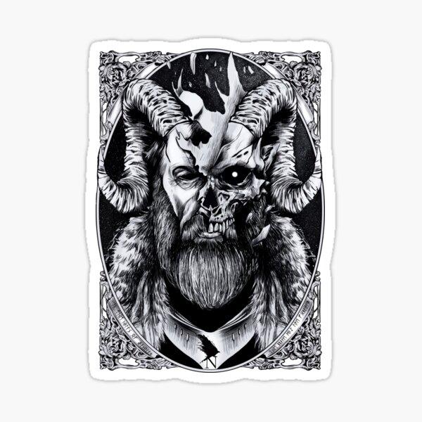 The God Odin  Sticker