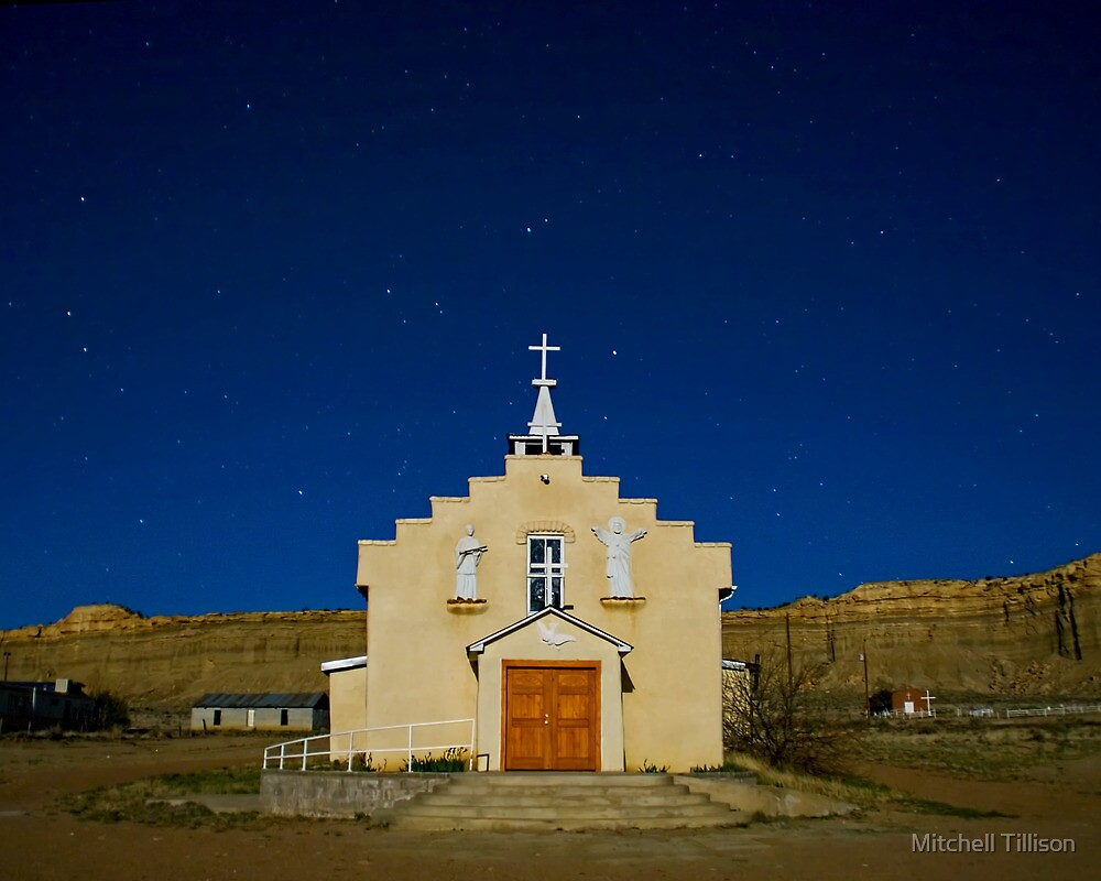 Church at San Luis by Mitchell Tillison