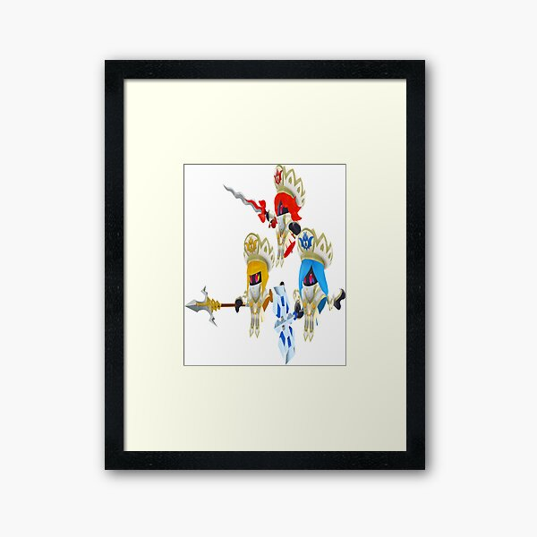 The Three Mage-Sisters (EX) Framed Art Print