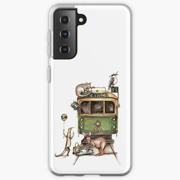 Melbourne tram Samsung Galaxy Soft Case