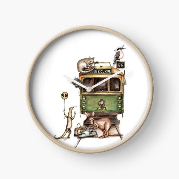 Melbourne tram Clock