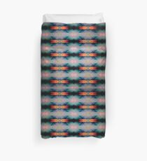 Abstract Grunge Pattern Duvet Cover