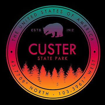 Custer State Park South Dakota SD Souvenirs by fuller-factory