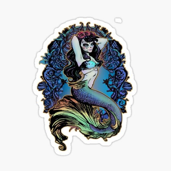 Salty Siren Sticker