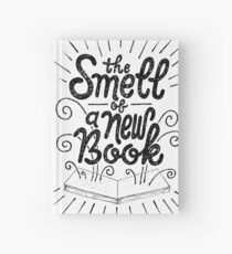 The Smell Of A New Book Hardcover Journal