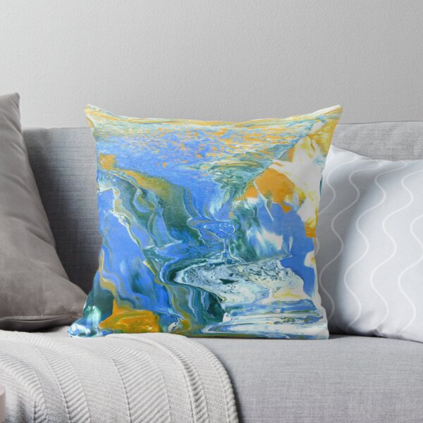 Irene Art 4 Throw Pillow