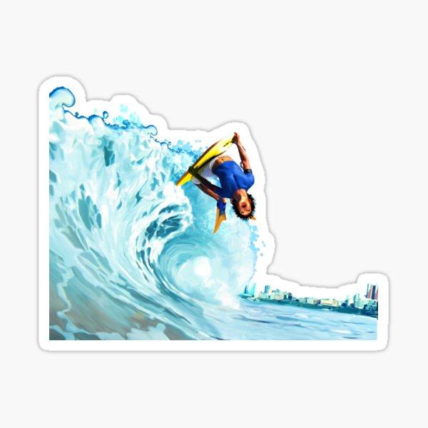 bodyboard Sticker