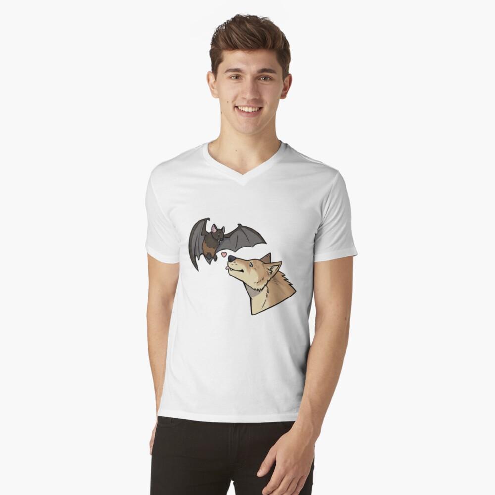 Riley & Izzy: Animal Forms V-Neck T-Shirt