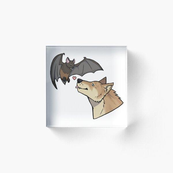 Riley & Izzy: Animal Forms Acrylic Block