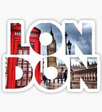 London - UK - Great Britain Sticker