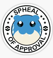 Pegatina Spheal de aprobación