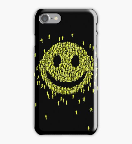 Happy Crowd iPhone Case/Skin