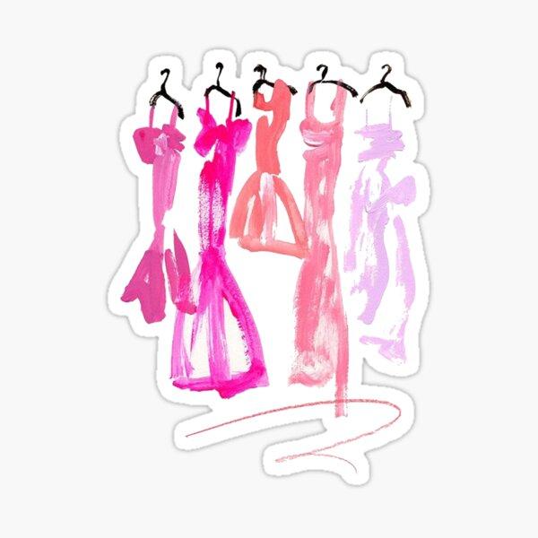 Dresses Sticker