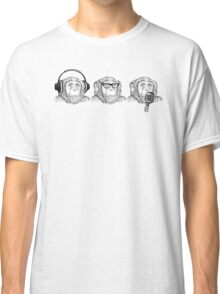 Hear Evil, See Evil, Speak Evil Classic T-Shirt