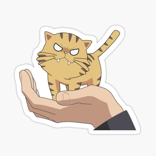Palm Top Tiger Sticker