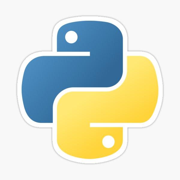 Etiqueta engomada de Python Pegatina