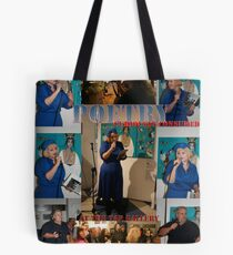 Poetry, curiously consumed......at the tap Gallery. Tote Bag