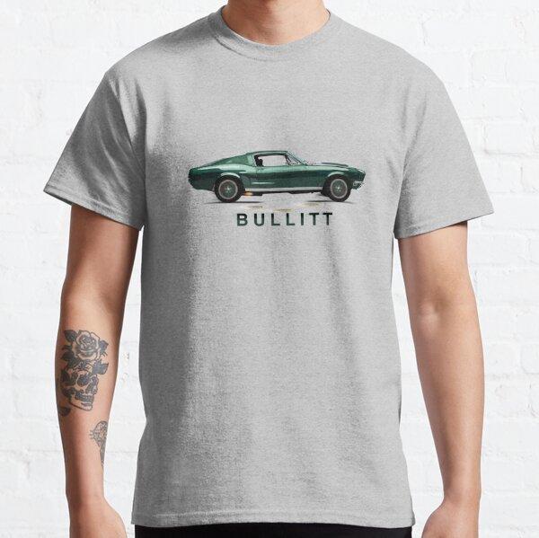 The Mythical Ford Mustang GT 390 Bullitt Car by MotorManiac Classic T-Shirt