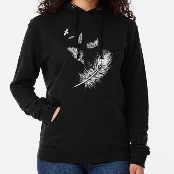 Flying High Up Up Lightweight Hoodie