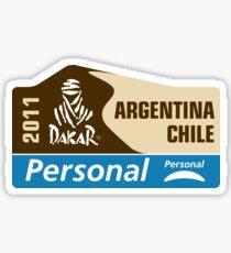 Dakar rally Sticker