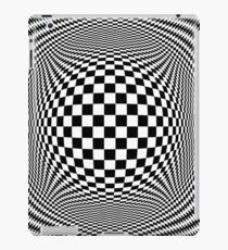 Optical Illusion Checkers  iPad Case/Skin