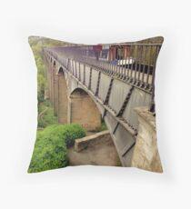 Telford Aqueduct Throw Pillow