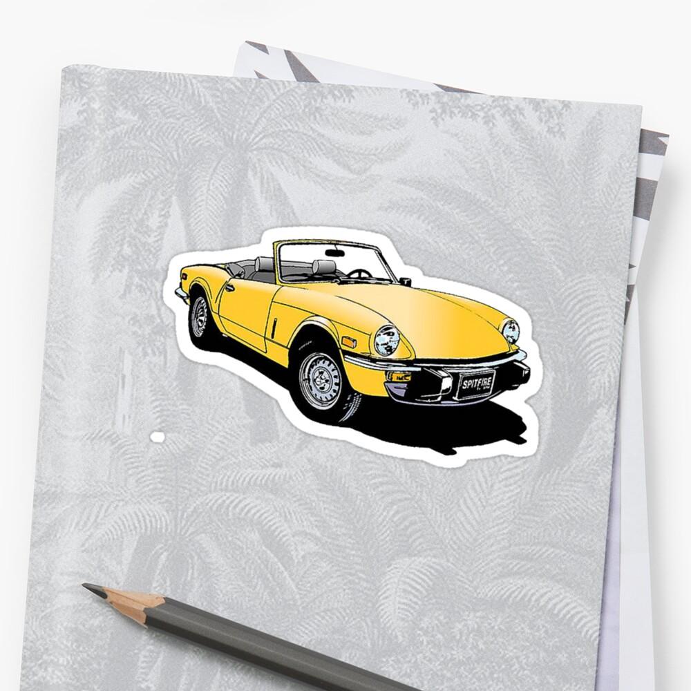Triumph Spitfire Sticker