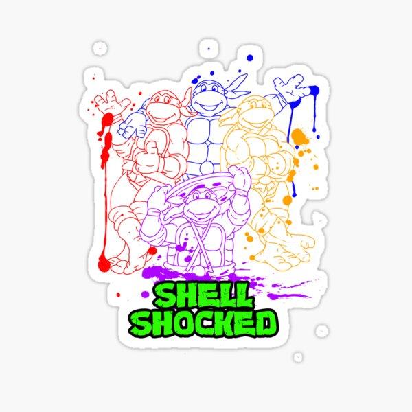 Shell Shocked Sticker