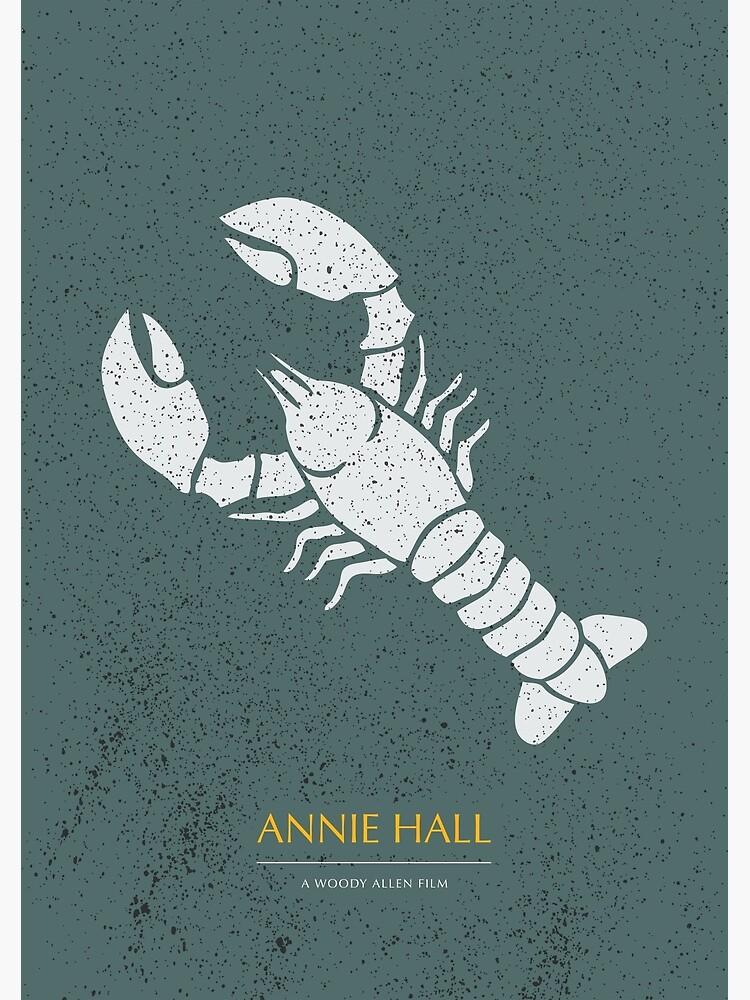 Annie Hall - Alternative Movie Poster by MoviePosterBoy