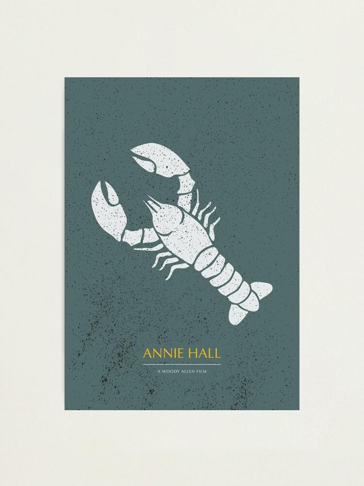 Alternate view of Annie Hall - Alternative Movie Poster Photographic Print