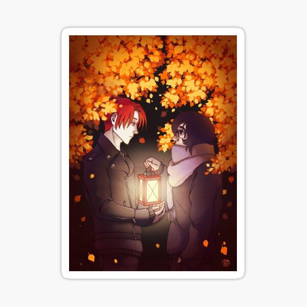 Autumn light Sticker