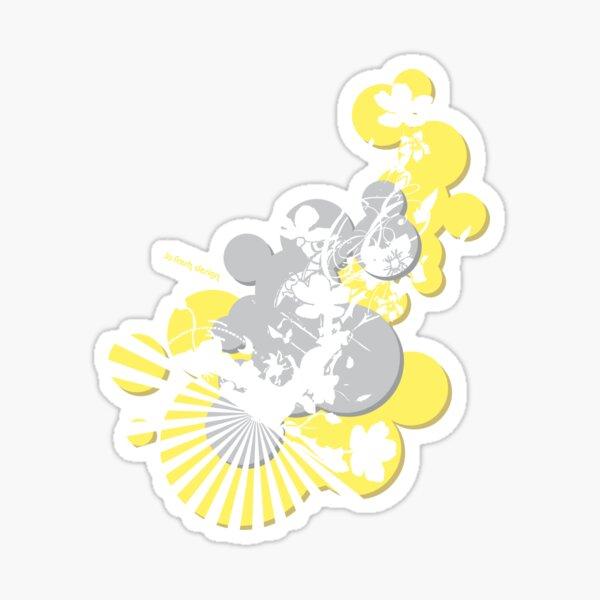 SoFresh Design - Flower Power Sticker