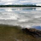 Lake Kochelsee on a Cloudy Day by Daidalos