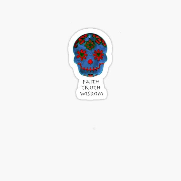 Faith, Truth, Wisdom Sticker