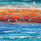 Red Sky Blue Sea by Kathie Nichols