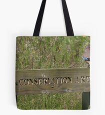 Caring For Nature Tote Bag