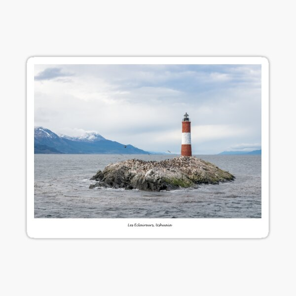 Les Éclaireurs Lighthouse,Ushuaia Sticker