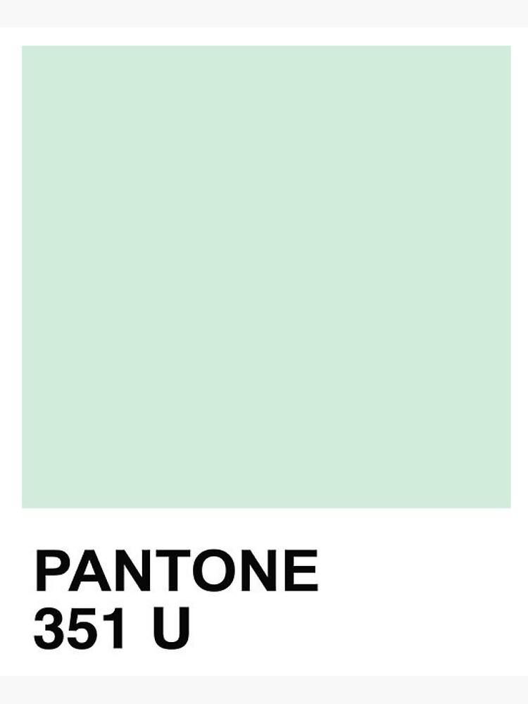 Pantone Minze + Mandarine von joaovictorprado