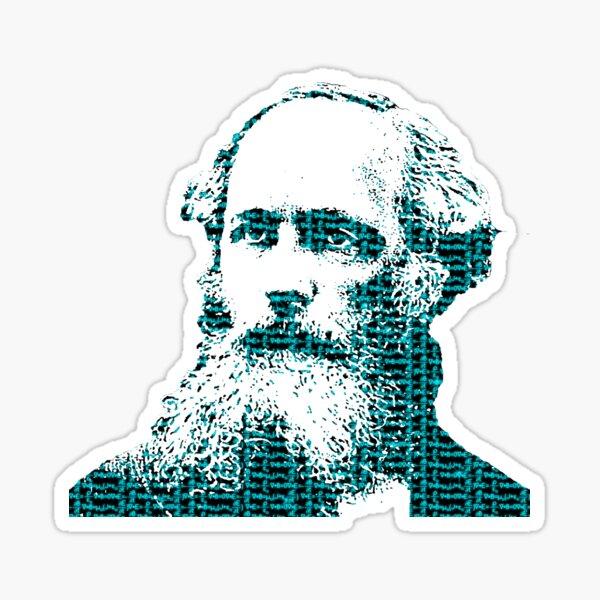 James Clerk Maxwell's Equations Sticker