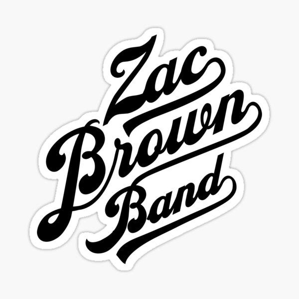 zac zbb logo brown band 2020 nirmala Sticker